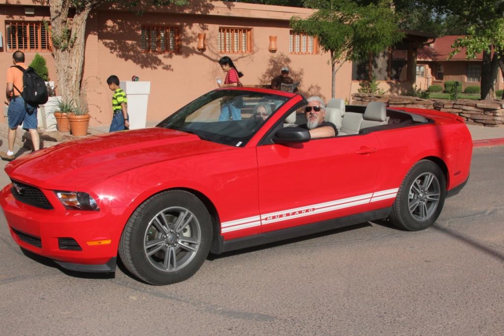 Faire la route dans une Corvette... le rêve !