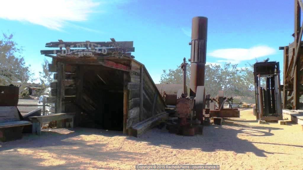 L'entrée de la Mine Goldfield