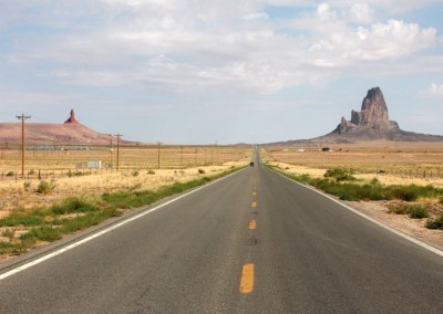 En route vers Monument Valley