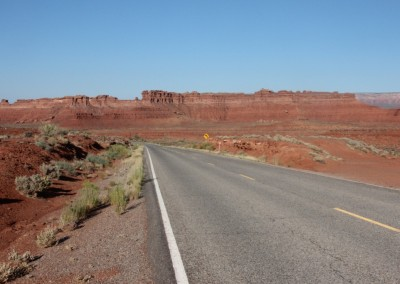 En route vers le Canyon de Chelly