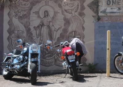 Bisbee - les bikers