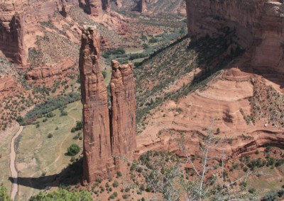 Le Canyon de Chelly : Spider Rock