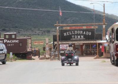 Tombstone - Jeu de mots : Helldorado, Hell = Enfer