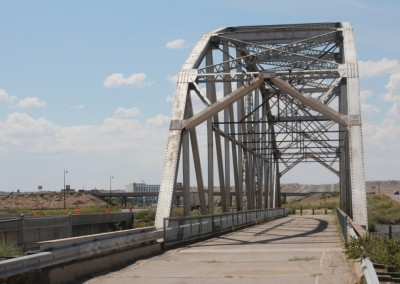 Rio Puerco Bridge - le pont désaffecté