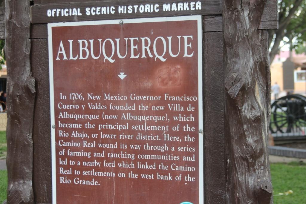 Albuquerque, un peu d'histoire