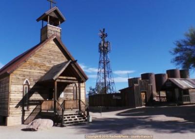 L'église de Goldfield