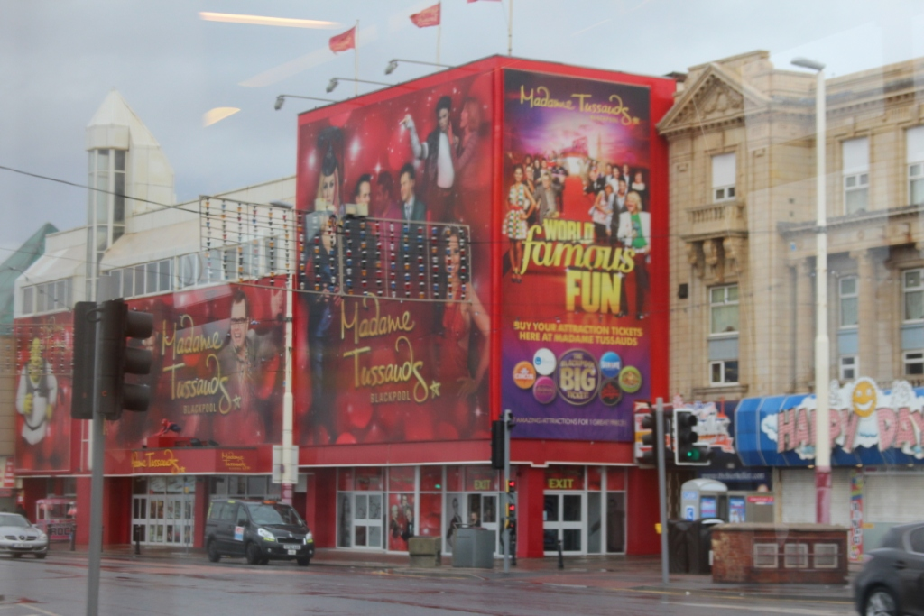 Le musée Tussaud-Blackpool