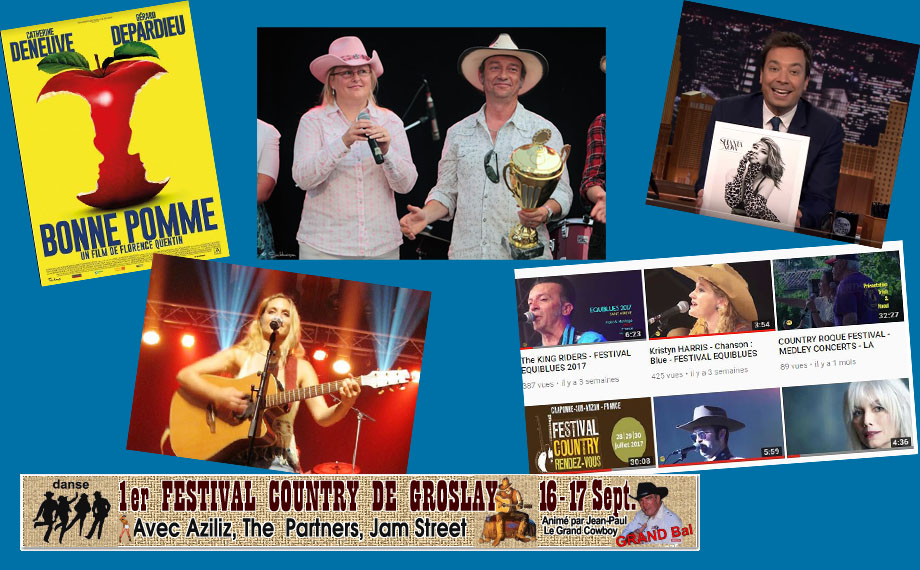 Newsletter Country-France du 13 Septembre 2017
