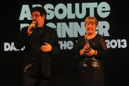 Peter Metelnick & Alison Biggs : la choré LDF- Let's Dance Forever - Choré Ultra Débutant, remporte l'Award en 2014