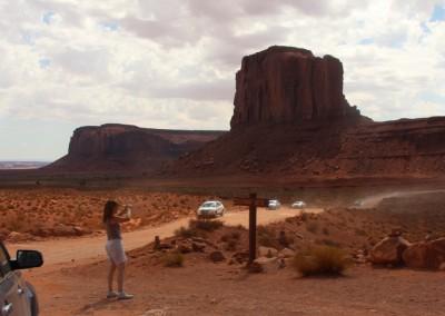 Monument Valley, les sentiers sont balisés et chaque roche a un nom
