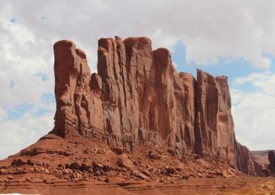 Monument Valley - Paroi rocheuse