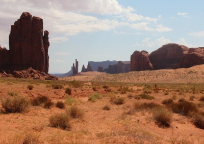 Monument Valley - On s'attend à voir surgir des cavaliers