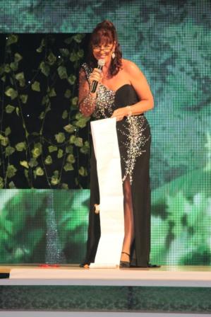 """Samedi soir : les Awards, Ria Vos a préparé un """"petit"""" discours"""