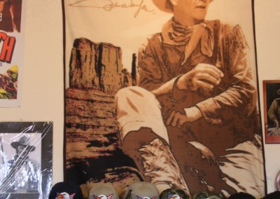 Visitor Center de Monument Valley - John Wayne, American Legend !