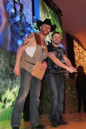Pedro Machado et Darren Bailey : membres du jury