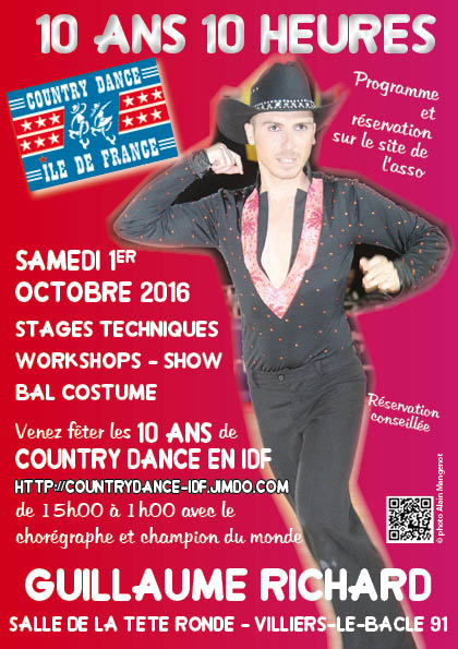 Country Dance en IDF fête ses 10 ans