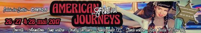 Festival Cambrai American Journeys 2017 - CLIQUEZ !