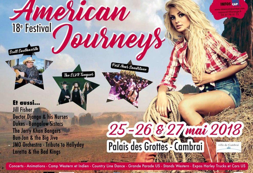 Festival American Journeys de Cambrai