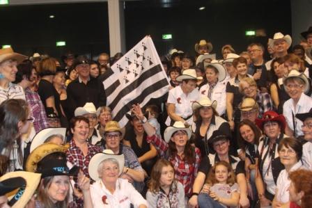 Les danseurs Bretons largement représentés au dernier Salon CW