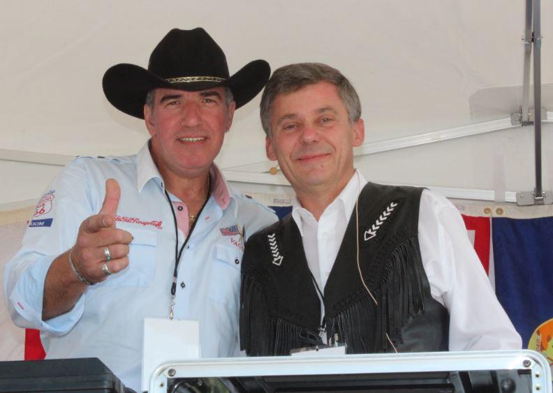 """Patrick Maulavé et le """"Grand Cowboy"""""""