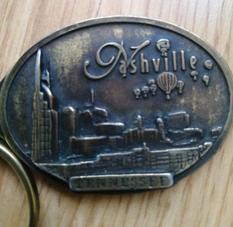 Porte clé Nashville - Verso