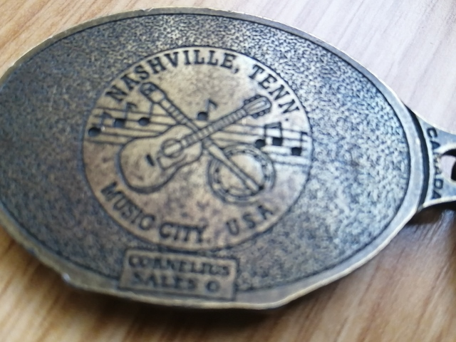 Porte clé Nashville - Recto