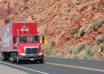 Truck typique US