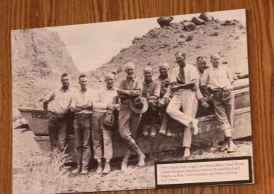 Les expéditions dans les années 20, pour explorer le furtur site du lac Powell.