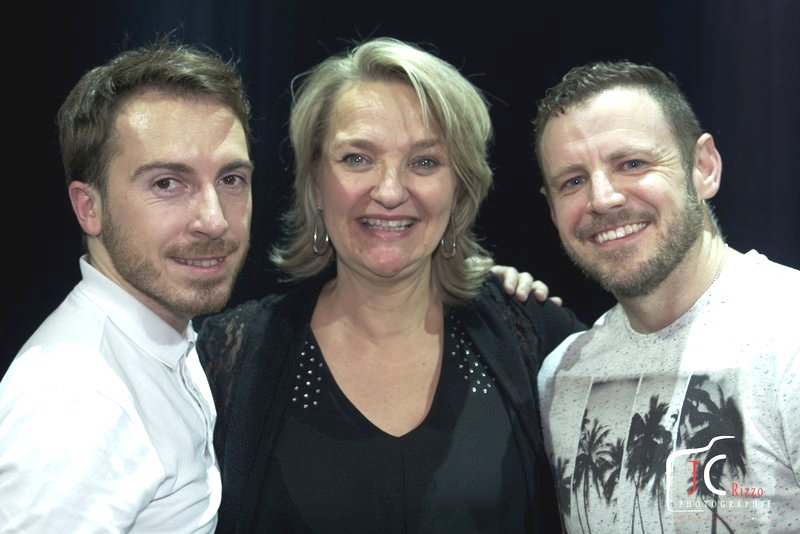 Richard, Guylaine et Darren au Festival Chatswing 2017