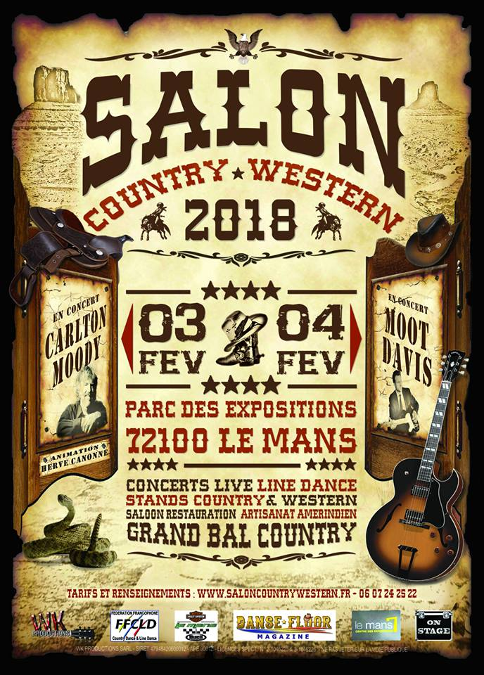 Affiche du Salon Country Western 2018