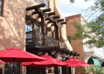 Architecture typique de Santa Fe