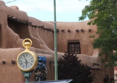 "Santa Fe style, l'architecture ""pueblo"""
