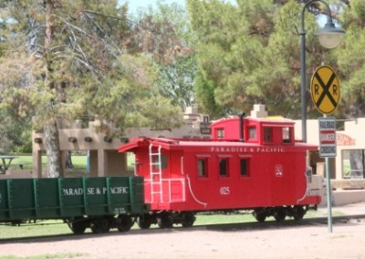 Le Musée des Trains de Scottsdales Trains de Scottsdale