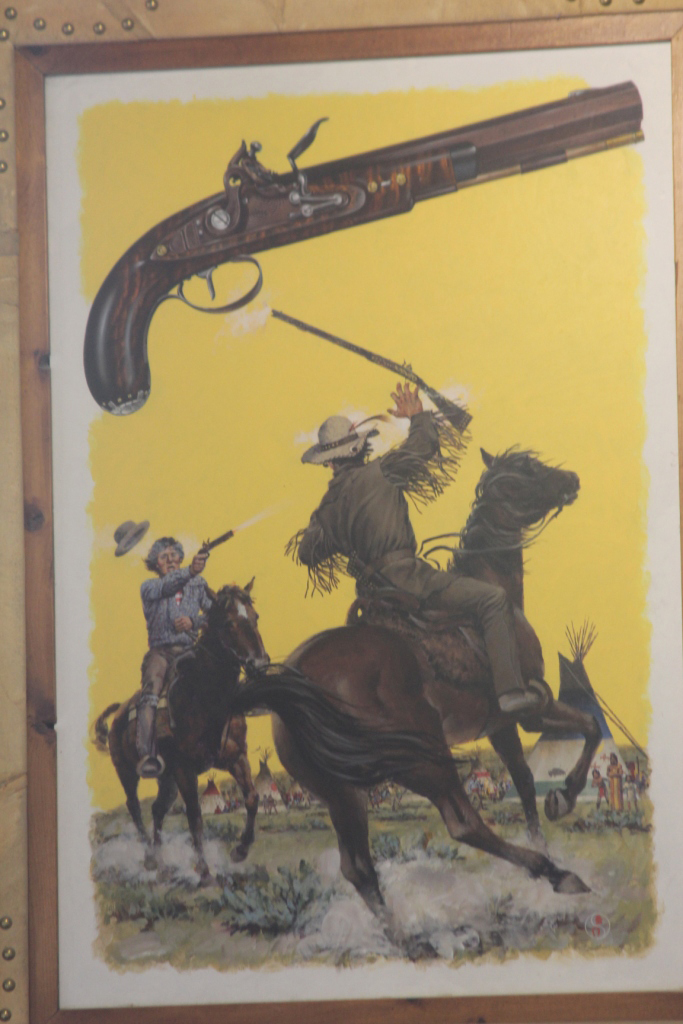La légende dit que Kit Carson aurait blessé à la main un prétendant jaloux qui convoitait sa première épouse, une jeune Arapahoe nommée Waa-Nibe.