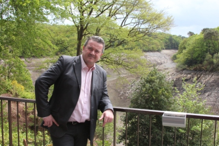 Mikael Rouzic, directeur de Vacanciel-Mur de Bretagne