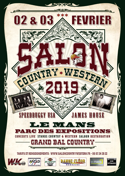Salon Country Western - affiche 2019