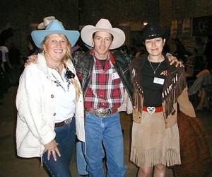 JC Harrisson avec Violette Vanderborck et Annie Dance