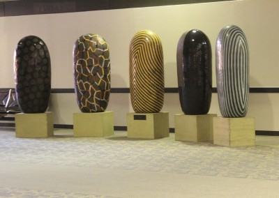 Phoenix Airport : Exposition de sculptures