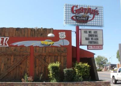 Flagstaff, restaurant sur la Route 66