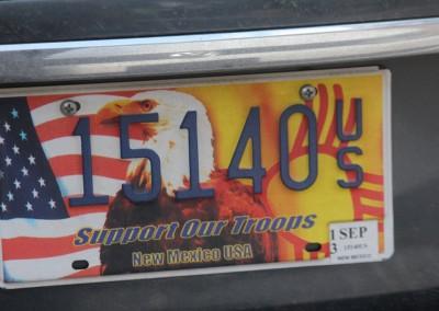 Ah les plaques de voitures US !
