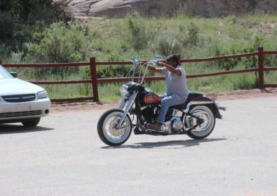 Le Navajos ne se déplacent plus à cheval
