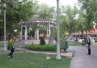 Kiosque sur la plaza