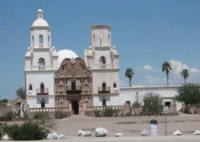 La mission San Xavier del Bac