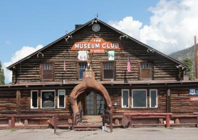 Flagstaff, musée de la Route 66, malheureusement fermé à l'heure où nous sommes passé !