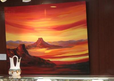 Sedona inspire les peintres