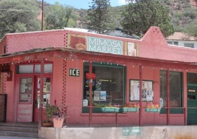 Bisbee - Bâtiment en briques colorées