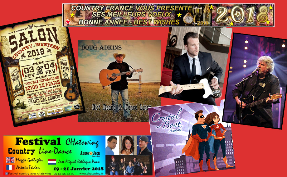 Newsletter Country-France Janvier 2018