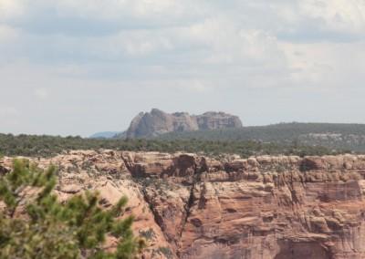 Paysage autour du Canyon de Chelly