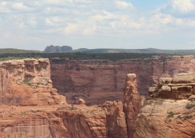 Falaises découpées du Canyon de Chelly