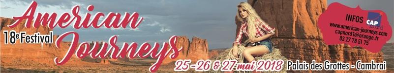 Festival American Journeys 2018 - INFOS CLIQUEZ !